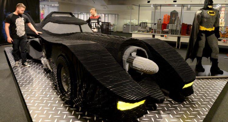 Wystawa klocków LEGO - LEGO Batmobil
