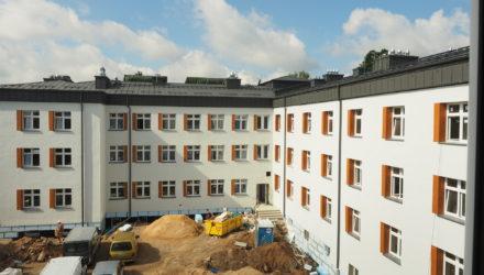 Odbudowa DPS Głowackiego
