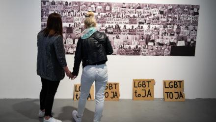 """wystawa """"Jesteśmy ludźmi"""" foto: Wojciech Pacewicz"""