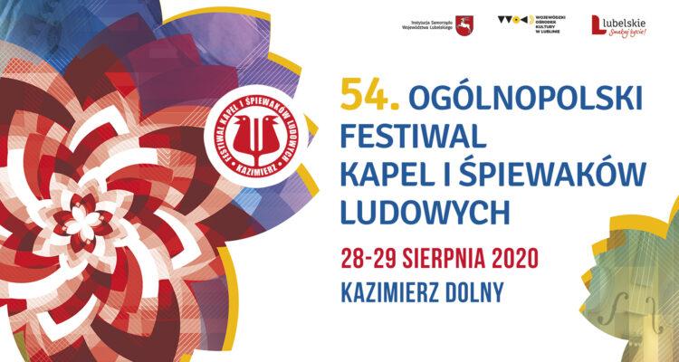 54 ogólnopolski festiwal kapel i śpiewaków ludowych